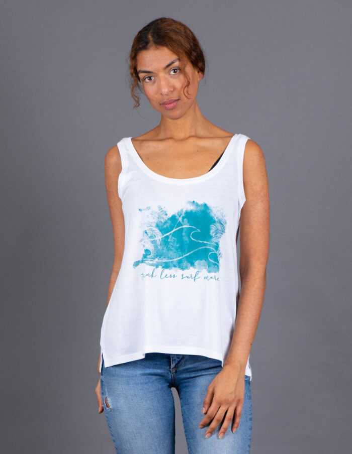 surf more_tencellyocell_organiccotton tank animawomenssurf